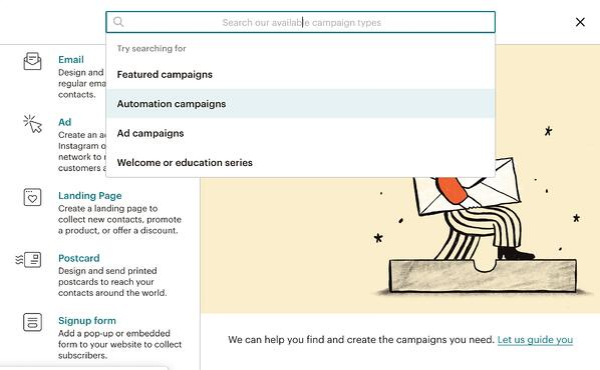 Mailchimp Automated Campaigns